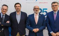 Luis Gaite, Rafael Tejido, Miguel Rodríguez y Luis Artal (Foto. Gobierno de Cantabria)