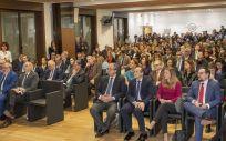 El auditorio de la sede del Grupo Cofares durante la celebración de los Premios SaluDigital 2020 (Oscar Frutos ConSalud.es)