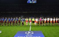 La Sanidad valenciana ha informado que desconocía que el Valencia jugó en Milán (Foto. Eurosport)