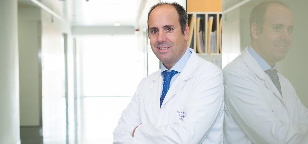 El doctor Javier Cortés es uno de los tres investigadores clave a nivel mundial sobre el papel de la inmunoterapia en cáncer de mama triple negativo (Foto. Quirónsalud)