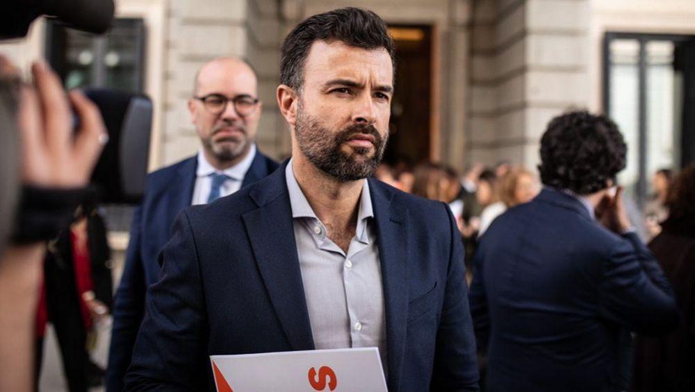 Pablo Cambronero, portavoz de Sanidad de Ciudadanos en el Congreso (Foto: Pedro Ruiz y Eugenia Morago)