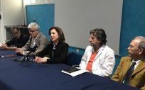 Teresa Cruz en la presentación del servicio de Cuidados Paliativos (Foto. ConSalud)
