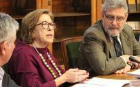 Reunión de la comisión de seguimiento del convenio entre el Gobierno de Aragón y la Universidad de Zaragoza (Foto. Gobierno de Aragón)