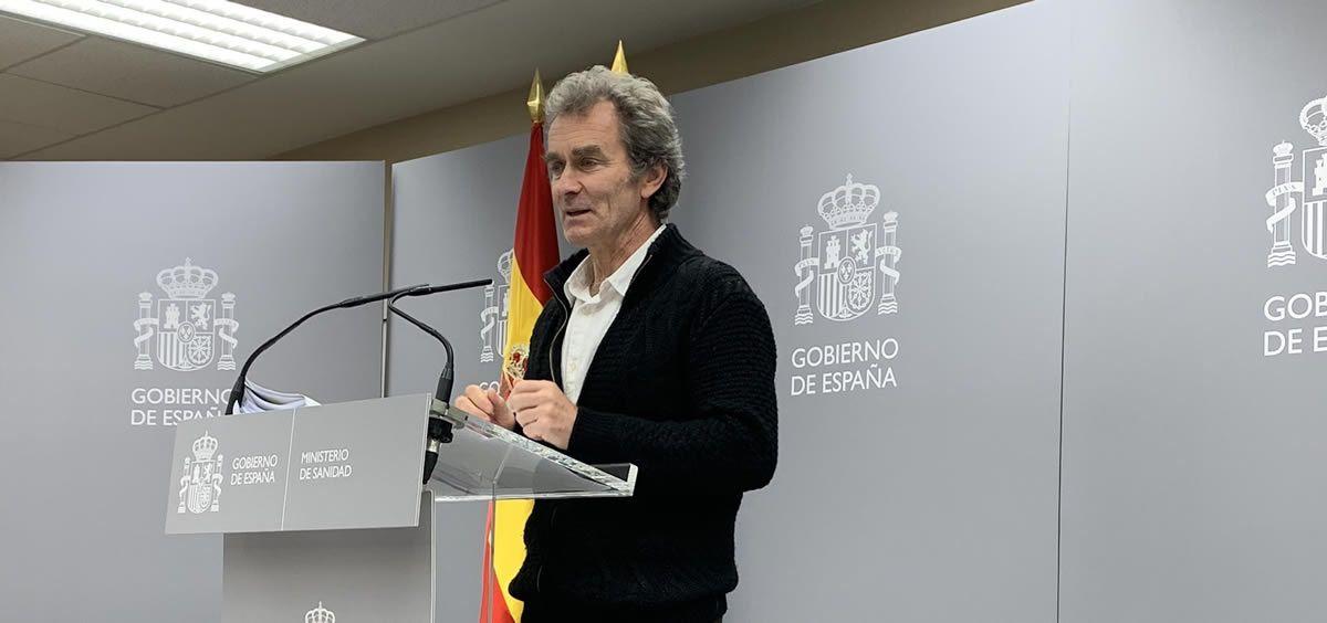 Fernando Simón, director del Centro de Alertas y Emergencias Sanitarias. (Foto. @SaludPublicaEs)