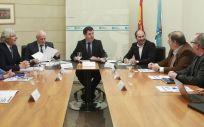 Reunión de la Junta y el sector de turismo (Foto. Junta de Galicia)