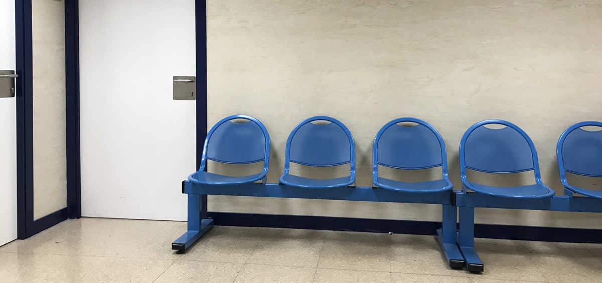 Sala de espera de un centro de salud de la Comunidad de Madrid. (Foto. ConSalud)