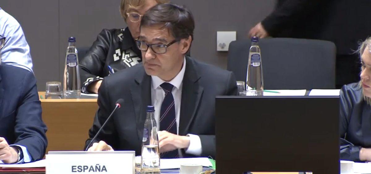 Salvador Illa, ministro de Sanidad de España (Foto: Consejo Europeo)