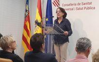 La subdirectora general de epidemiología, Hermelinda Vanaclocha (Foto. @GVAsanitat)