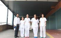 Profesionales del Servicio de Urgencias del Hospital Mancha Centro (Foto. Sescam)