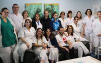 Profesionales del Hospital Doctor José Molina Orosa (Foto. Gobierno de Canarias)
