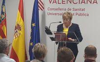 Ana Barceló, consejera de Sanidad de la Comunitat Valenciana (Foto. @GVAsanitat)