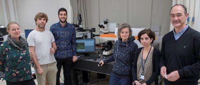 Grupo de investigación de CIC biomaGUNE y el Ciber BBN liderado por Luis Liz Marzán, tomada junto al SERS