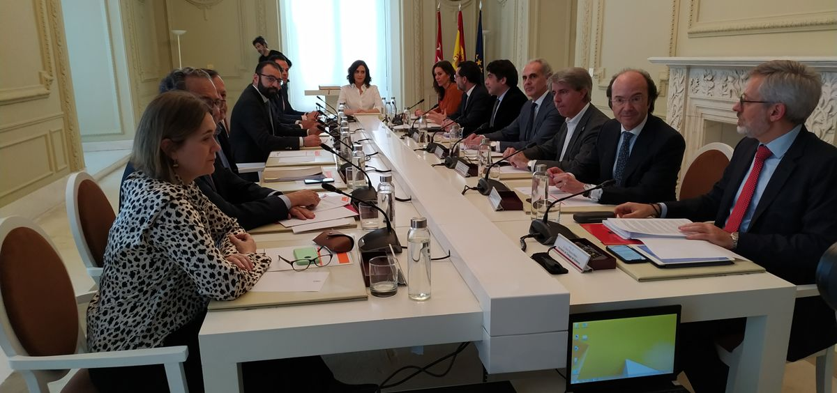 Consejo de Gobierno Extraordinario en la Comunidad de Madrid (Foto. ConSalud.es)
