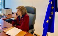Stella Kyriakides, comisaria europea de Salud y Seguridad Alimentaria (Foto: @SKyriakidesEU)