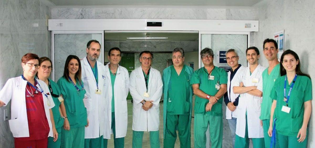 Profesionales del servicio de Cirugía General de La Candelaria (Foto. Gobierno de Canarias)