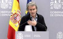 Fernando Simón, director del Centro de Coordinación de Alertas y Emergencias Sanitarias (Foto: La Moncloa)