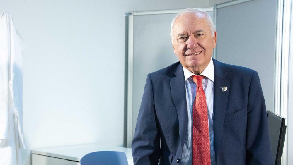 El presidente del Consejo General de Enfermería (CGE), Florentino Pérez Raya (Foto. CGE)