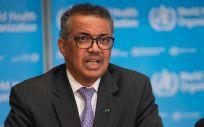 Tedros Adhanom Ghebreyesus, director general de la OMS, pide no abandonar la fase de contención y aumentar la vigilancia (Foto. OMS)