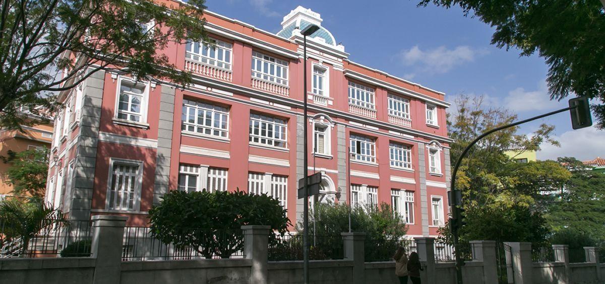 Fachada de la sede de la consejeria de sanidad en Tenerife (Foto. Gobierno de Canarias)