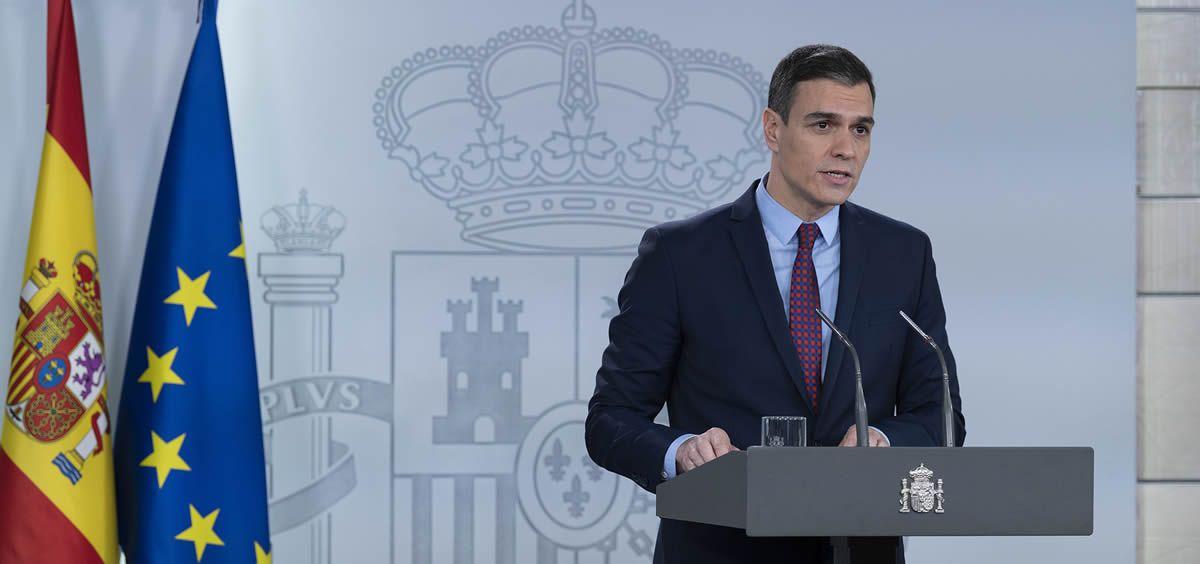 Pedro Sánchez, presidente del Gobierno de España (Foto: La Moncloa)