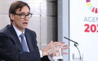 El ministro de Sanidad, Salvador Illa (Foto: Flickr PSOE)