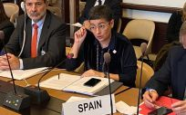 Arancha González Laya, ministra de Exteriores (Foto: @AranchaGlezLaya)