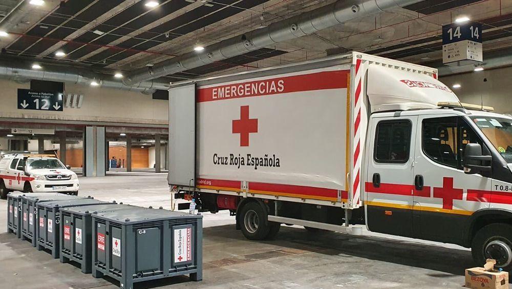 Cruz Roja habilita un albergue para personas sin hogar
