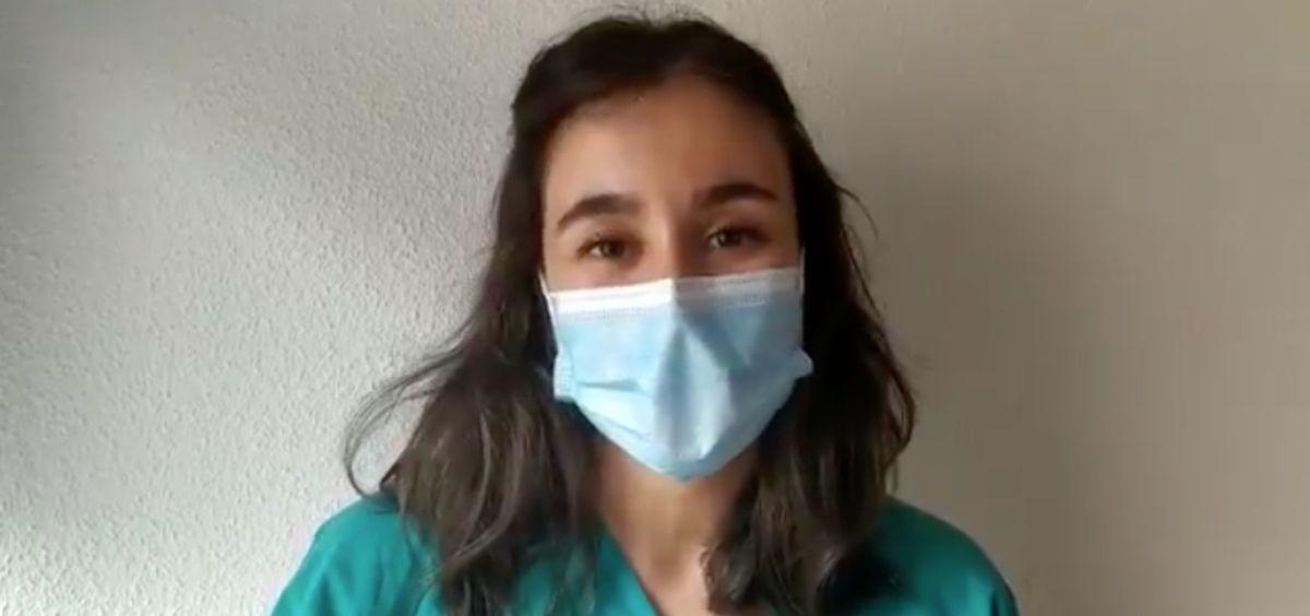 Cristina Marín Campos, médico Adjunto de Cirugía General y Aparato Digestivo en el Hospital Universitario La Princesa, promotora de esta iniciativa. (Foto. @SaludMadrid)