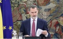 El Rey Felipe VI. (Foto. @casareal)