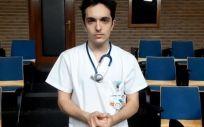 Antonio Pujol de Castro, presidente del Consejo Estatal de Estudiantes de Medicina (CEEM) (Foto. CEEM).