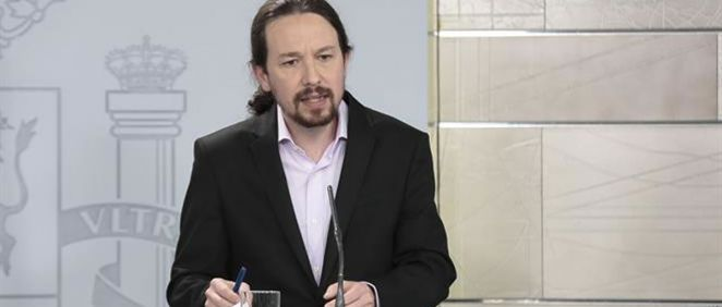 Pablo Iglesias, vicepresidente segundo del Gobierno (Foto. La Moncloa)