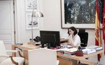 Isabel Díaz Ayuso, presidenta de la Comunidad de Madrid (Foto. Comunidad de Madrid)