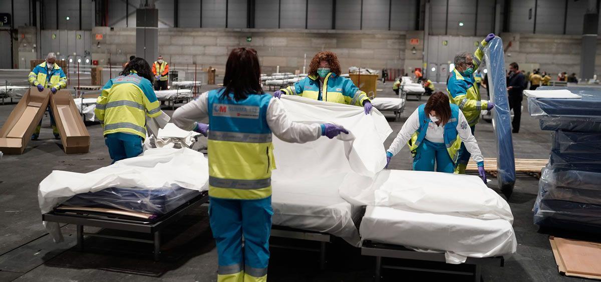 Ifema, el hospital más grande Madrid por el coronavirus (Foto. Comunidad de Madrid)