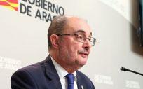 Javier Lambán, presidente de Aragón (Foto. Gobierno de Aragón)