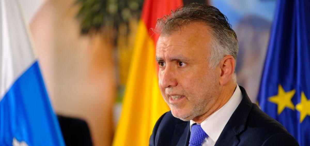 Ángel Víctor Torres, presidente del Gobierno de Canarias Foto. Gobierno de Canarias)