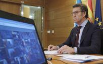 Alberto Núñez Feijóo ha criticado que el Gobierno central no está haciendo llegar recursos a Galicia (Foto. Xunta de Galicia)