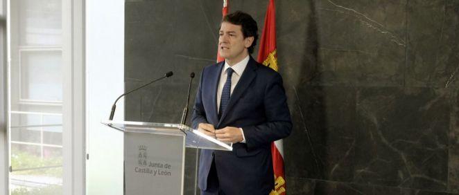 Alfonso Fernández Mañueco, presidente de la Junta de Castilla y León (Foto. JCYL)