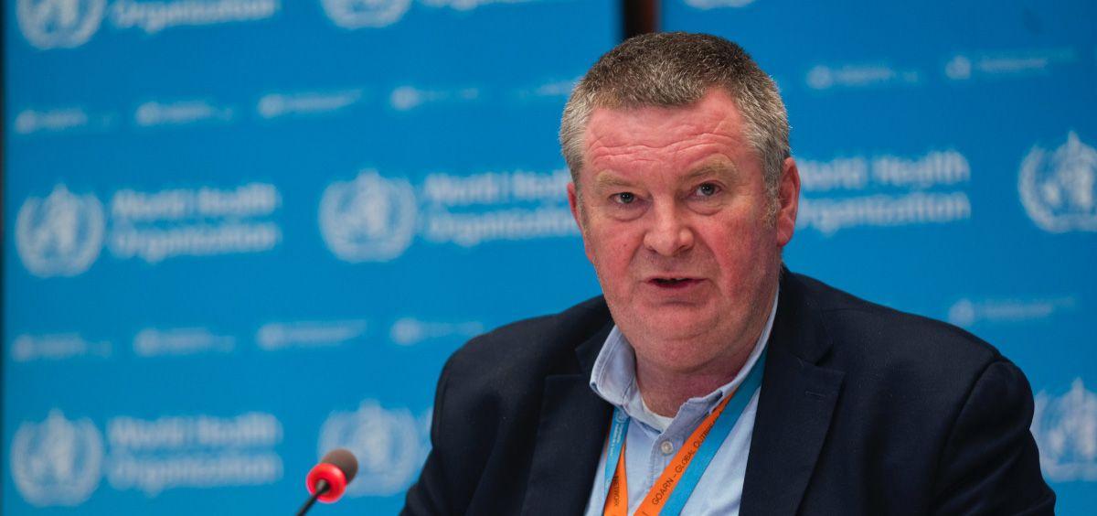 Mike Ryan, jefe del Programa de Emergencias de la Organización Mundial de la Salud (Foto. OMS)