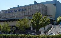 El Palacio de Hielo de Madrid ha sido habilitado como morgue para los fallecidos por la epidemia de coronavirus.