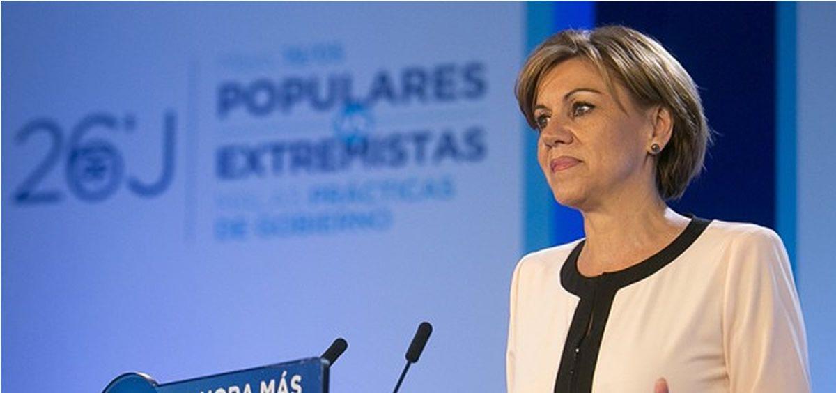 María Dolores de Cospedal, exministra de Defensa