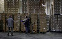La Generalitat inicia el reparto del material sanitario de protección procedente de China. (Foto. Generalitat)