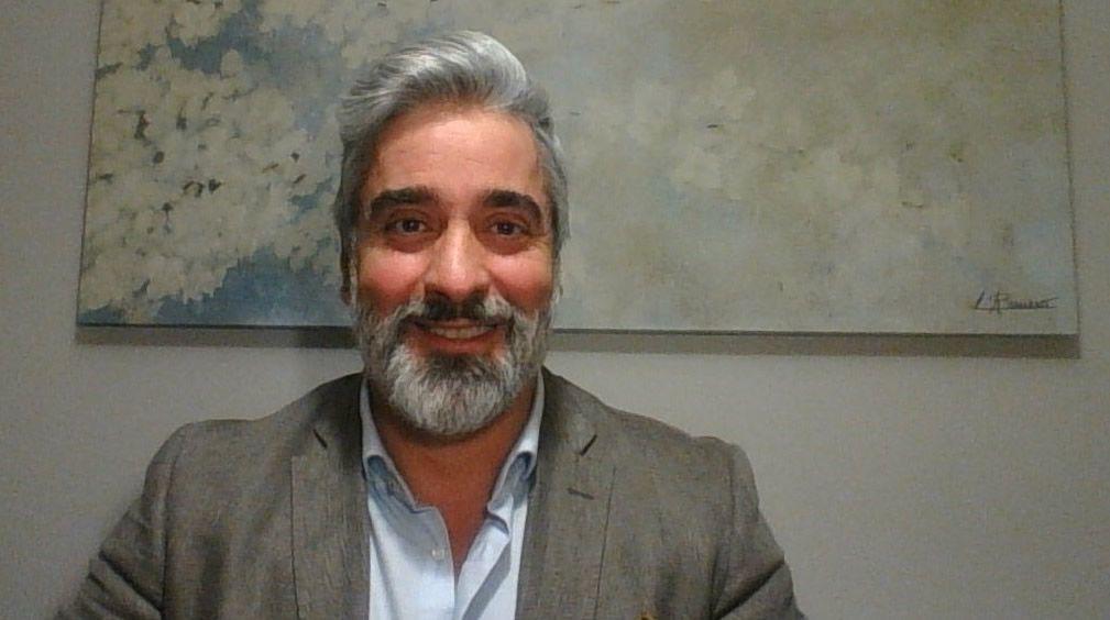 El psicólogo y profesor de la Universidad Francisco de Vitoria (UFV), Tasio Pérez (Foto: Cedida por el autor)