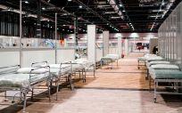 Hospital provisional en IFEMA (Foto. Comunidad de Madrid)
