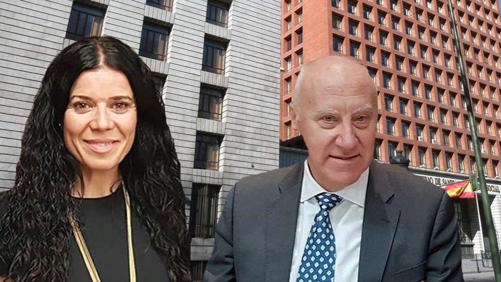 Patricia Lacruz, directora general de Cartera Básica de Servicios y Farmacia, y Faustino Blanco, secretario general de Sanidad (Foto. ConSalud.es)