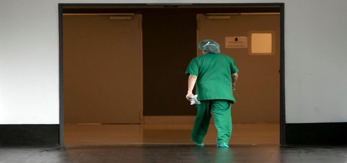 Profesional sanitario (Foto. Junta de Galicia)