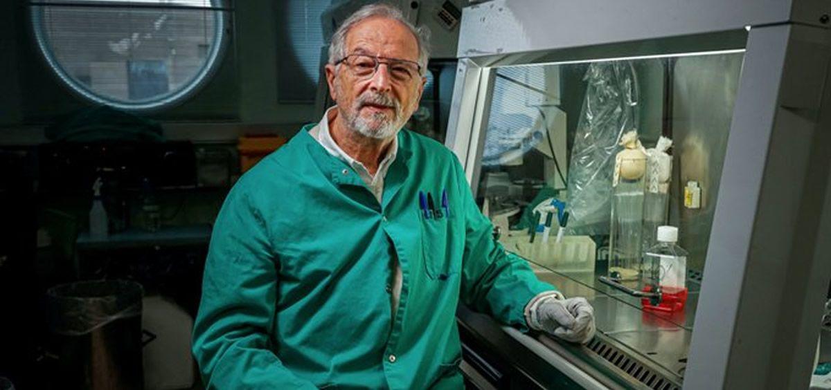 El investigador Luis Enjuanes. (Foto. CSIC)
