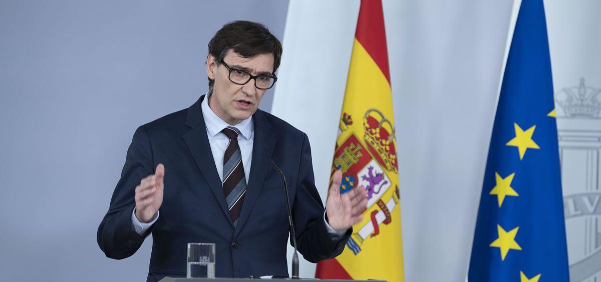 Salvador Illa, ministro de Sanidad (Foto. La Moncloa)