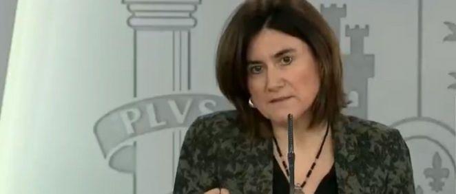 María José Sierra, del Comité Técnico del Coronavirus (Foto. ConSalud)