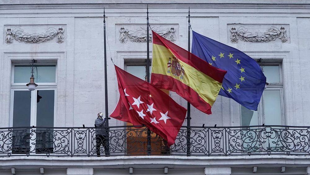 Luto oficial en Madrid por los fallecidos del coronavirus