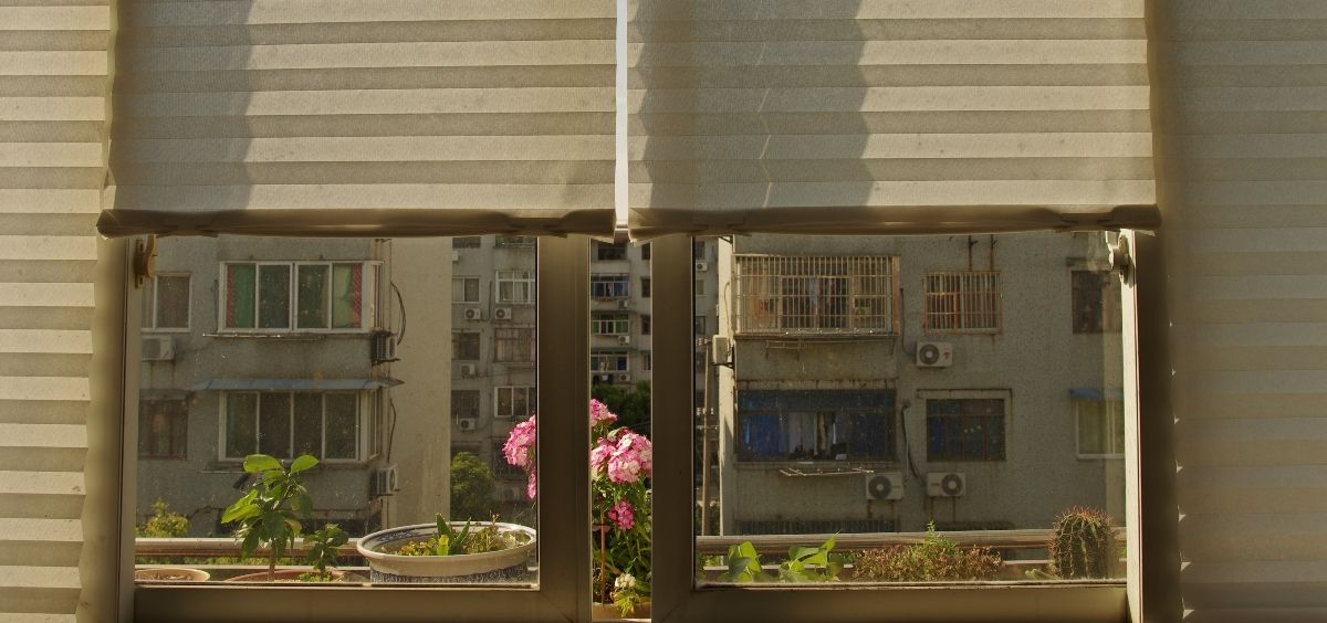 Vista a un patio de vecinos. (Foto. Unsplash)